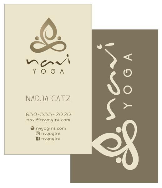 navi business card sample